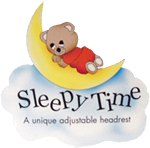 Sleepy Time Headrest Company Logo